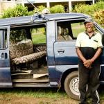 Inoke, our cab driver in Taveuni, Fiji